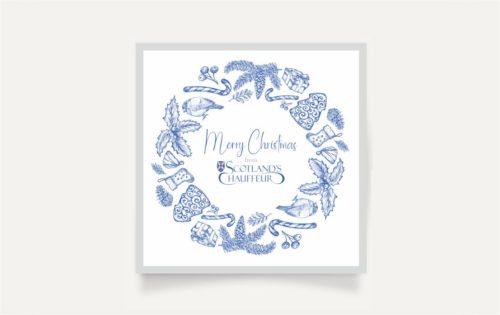 Christmas card Scotlands Chauffeur
