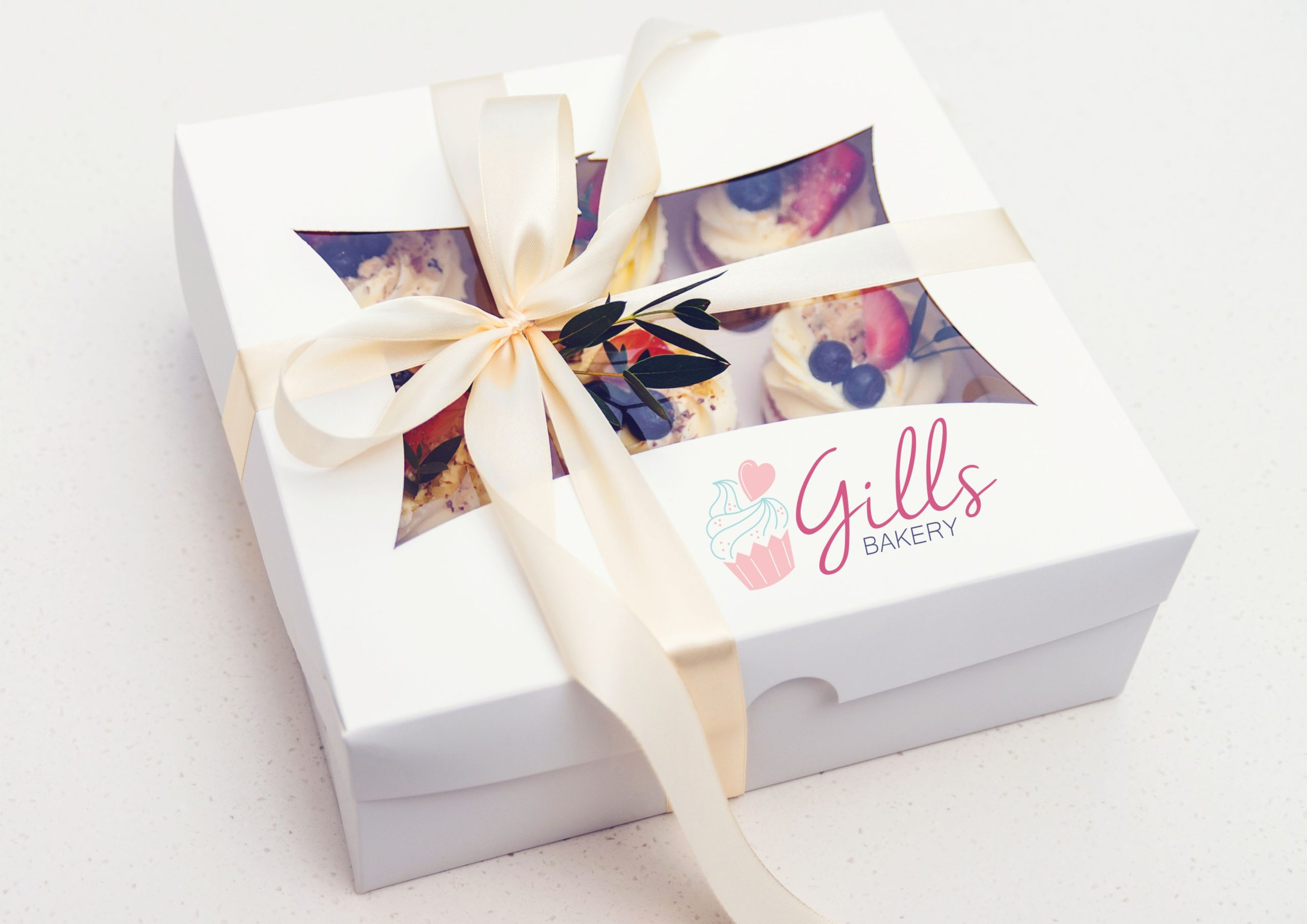 Gills bakery packaging