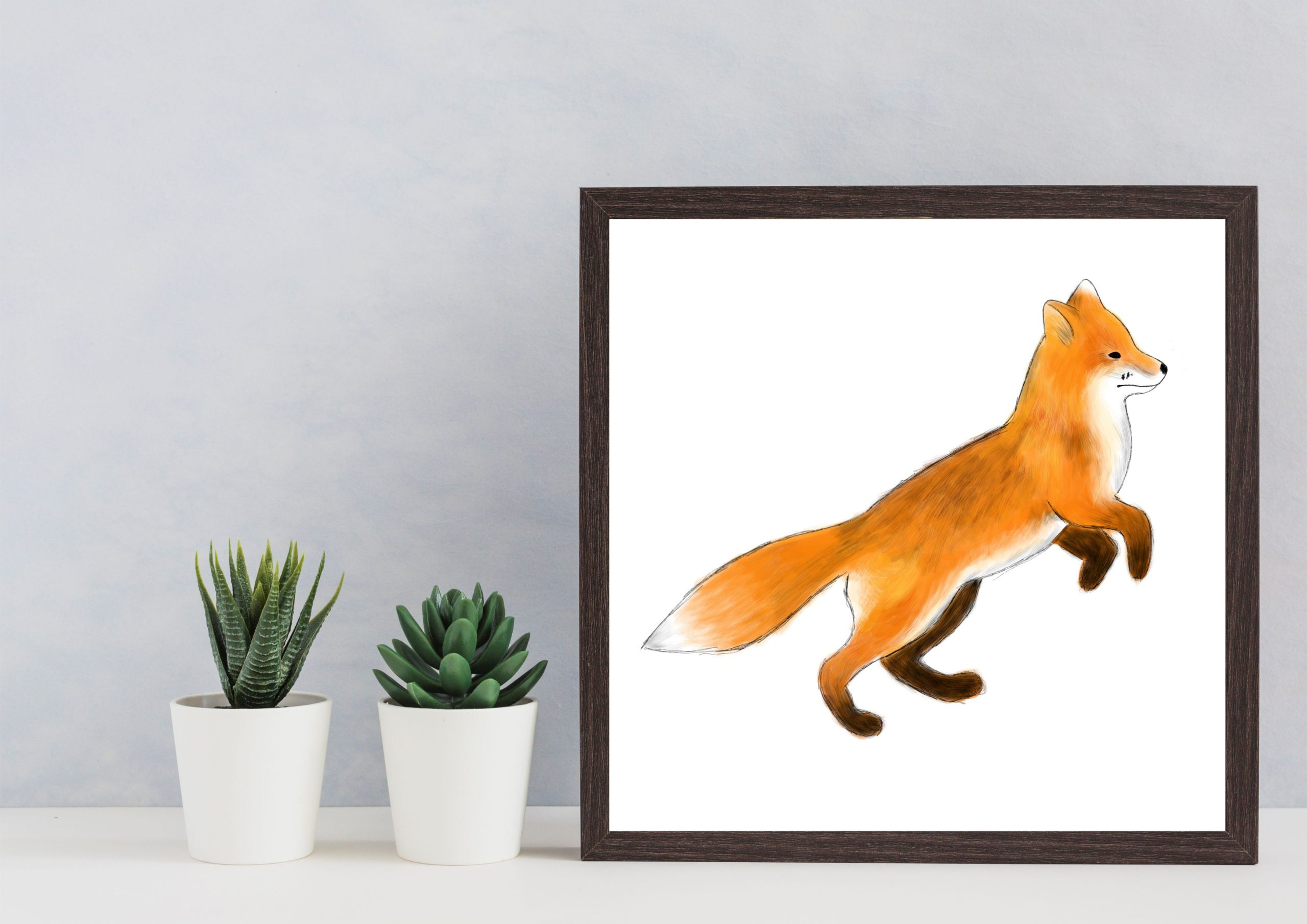 Illustration of fox
